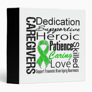 Caregivers Collage Traumatic Brain Injury Binder