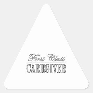 Caregivers First Class Caregiver Triangle Sticker