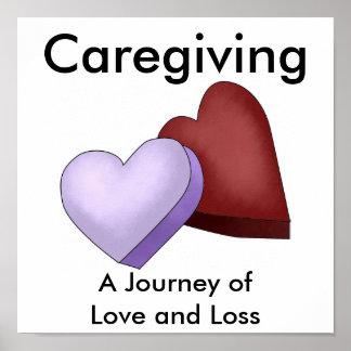 Caregiving, un viaje del amor y de la pérdida póster
