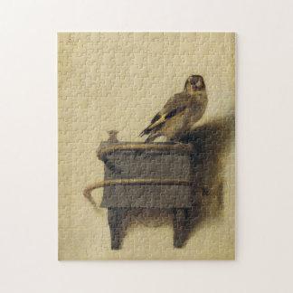 Carel Fabritius el Goldfinch Puzzle