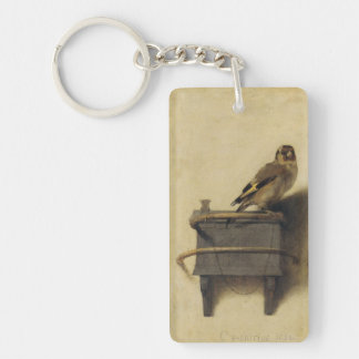 Carel Fabritius The Goldfinch Keychain