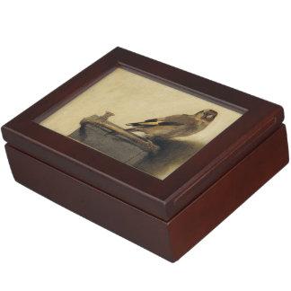 Carel Fabritius The Goldfinch Memory Box
