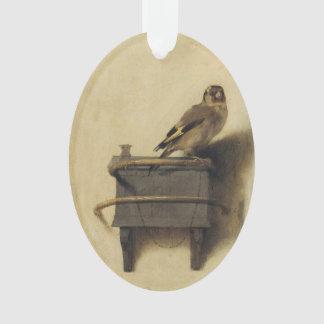 Carel Fabritius The Goldfinch Ornament