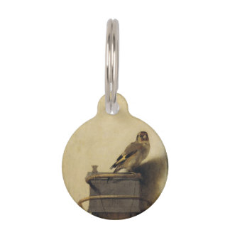 Carel Fabritius The Goldfinch Pet Tag
