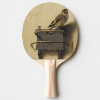 Carel Fabritius The Goldfinch Ping Pong Paddle