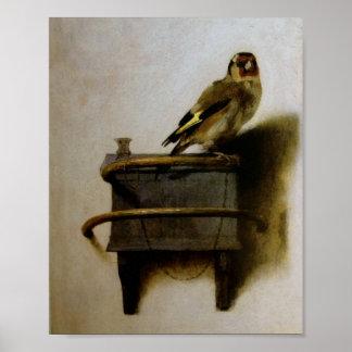 Carel Fabritius The Goldfinch Print