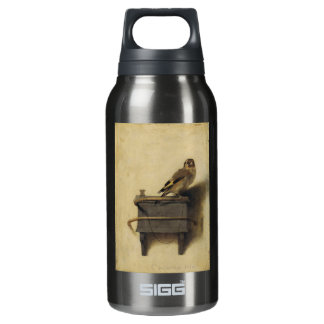 Carel Fabritius The Goldfinch Thermos Bottle