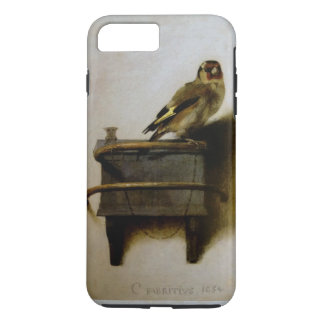 Carel Fabritius The Goldfinch Vintage Fine Art iPhone 8 Plus/7 Plus Case