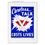 Careless Talk Costs Lives 1943 WPA