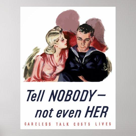 Careless Talk Costs Lives Ww2 Poster Zazzle Com