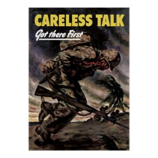 Careless Talk Got There First print