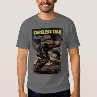 Careless Talk Got There First T Shirt