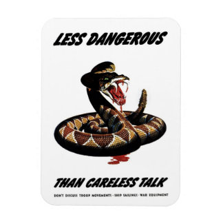 """Careless Talk"" Magnet"