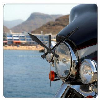 Carenado de Harley Reloj Cuadrado