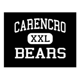 Carencro - Bears - High - Carencro Louisiana Postcard
