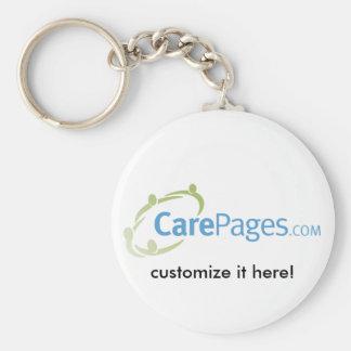 CarePages.com Custom Keychain