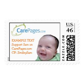 CarePages.com Custom Logo Stamps - Customized