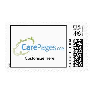 CarePages.com Custom Logo Stamps