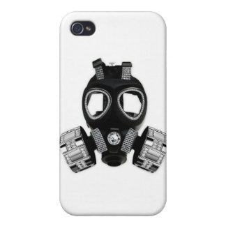 Careta antigás de Bling iPhone 4/4S Fundas