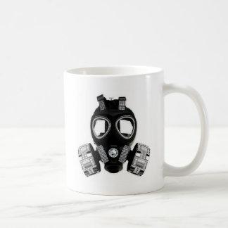 Careta antigás de Bling Tazas De Café