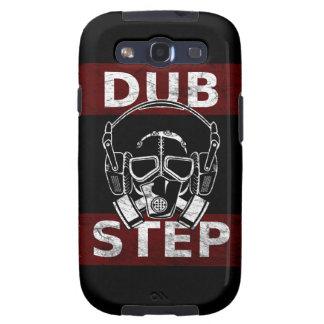 Careta antigás de Dubstep y auriculares Galaxy S3 Carcasas
