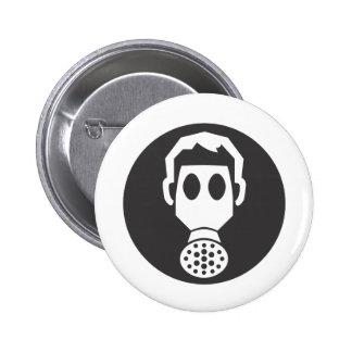 Careta antigás de Mythbusters Pin