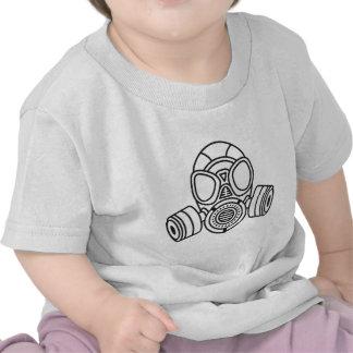 Careta antigás camisetas