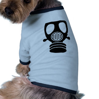 Careta antigás ropa de perro