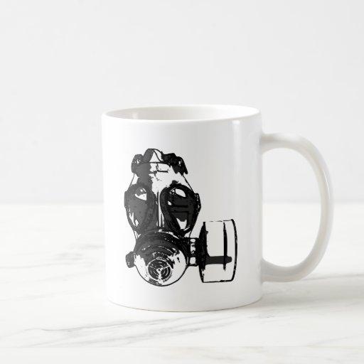 Careta antigás taza clásica