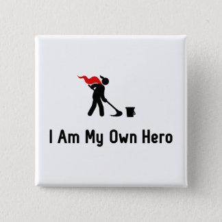 Caretaking Hero Pinback Button
