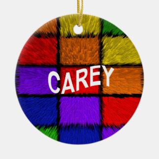 CAREY CERAMIC ORNAMENT