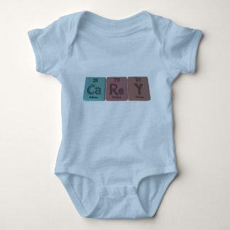 Carey como renio Yttirum del calcio Body Para Bebé