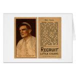 Carey máximo piratea el béisbol 1912 tarjetas