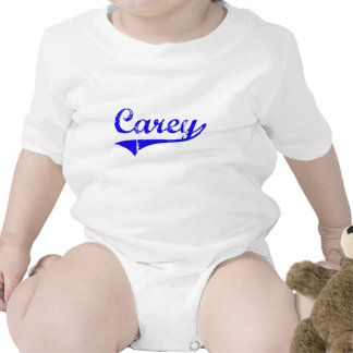 Carey Surname Classic Style Tee Shirts