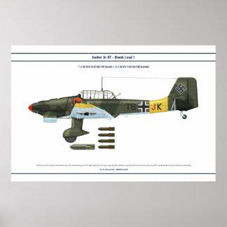 Carga 1 de Ju 87 Póster