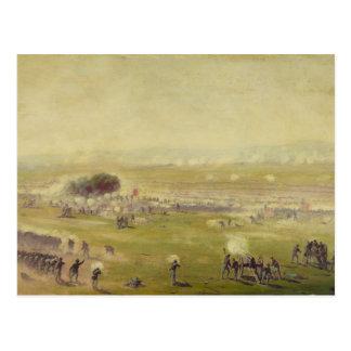 Carga americana de Picketts de la guerra civil de  Tarjetas Postales
