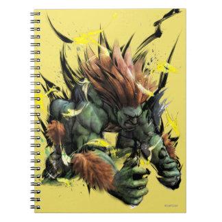 Carga de Blanka Cuaderno