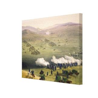 Carga de la brigada de la caballería ligera, el 25 impresiones en lienzo estiradas