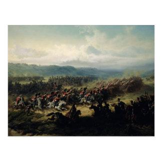 Carga de la brigada ligera, el 25 de octubre de tarjeta postal
