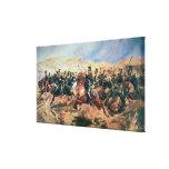 Carga de la brigada ligera impresiones en lienzo estiradas