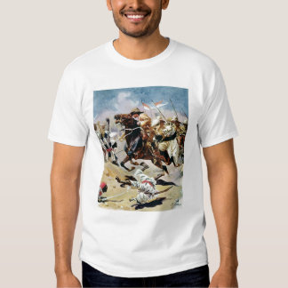 Carga de los 21ros lanceros en Omdurman Camisas