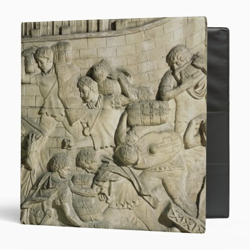 "Carga de una nave, detalle del molde de Trajan Carpeta 1 1/2"""