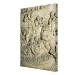 Carga de una nave, detalle del molde de Trajan Impresiones En Lona Estiradas