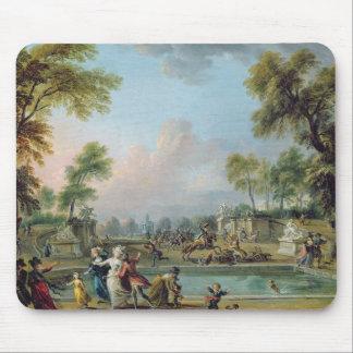 Carga del príncipe de Lambesc en Tuileries Alfombrillas De Ratón