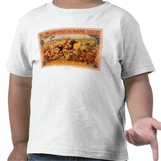 Carga grande del jubileo del trovador de la colina camisetas