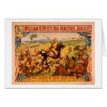 Carga grande del jubileo del trovador de la colina tarjeta de felicitación