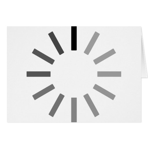 carga… tarjeta de felicitación