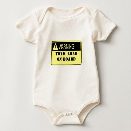 Carga tóxica body para bebé