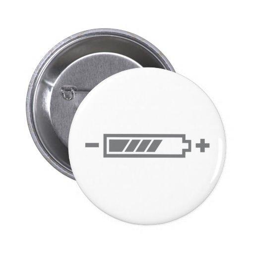 Cargado - eléctrico híbrido solar de la batería pins