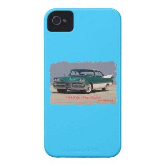 Cargador Daytona de 1968 Dodge iPhone 4 Cobertura